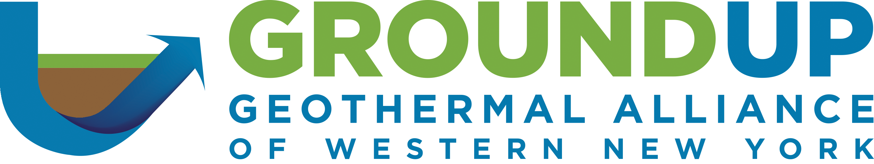 Ground Up Geothermal Logo